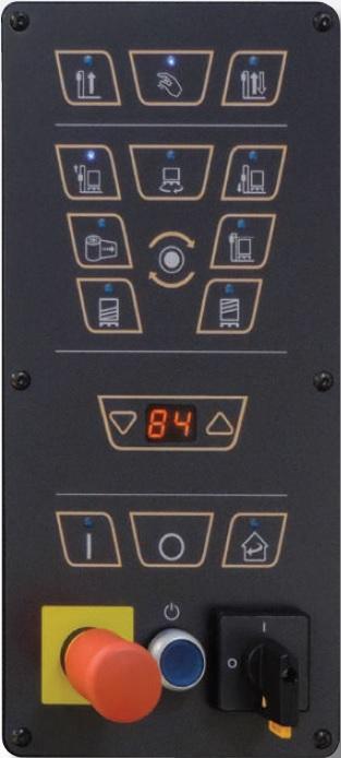 Панель управления паллетоупаковщика SIAT OneWrap